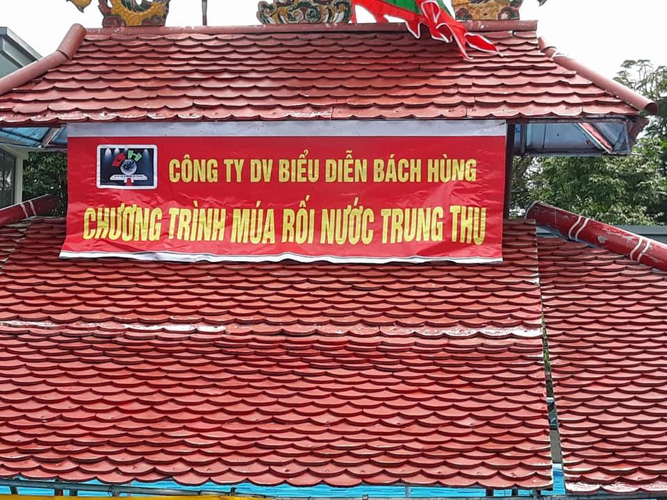 Thuê múa rối nước, thuê ban nhạc dân tộc tại Hội chợ xuân Quận Long Biên, Hà Nội